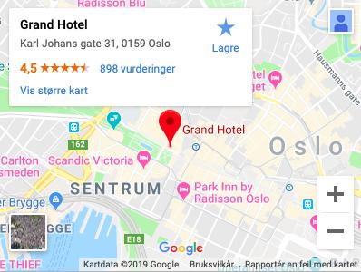 Zirius Kompetansedag 2020 Grand Hotel Scandic